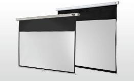 Manualne ekrany projekcyjne